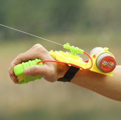 【NF401】手腕式噴水水槍 手腕式水槍 夏日兒童手握噴射程遠5米水槍 兒童沙灘玩具 打水戰 打水仗