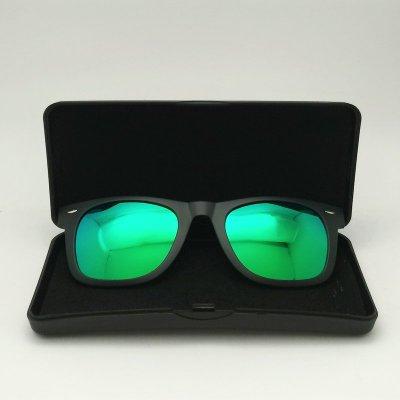 [恆源眼鏡] 太陽眼鏡前掛夾片 方形款 水銀綠 夏天必備 遮陽好夥伴 超值優惠