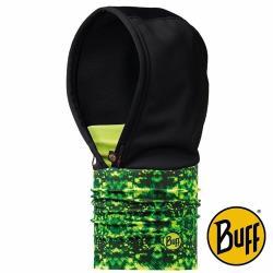 BUFF 螢光叢林  WINDSTOPPER防風保暖連帽頭巾