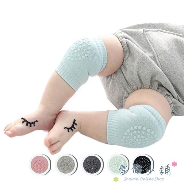 兒童護膝護肘-嬰兒寶寶爬行學步毛圈護具 雪倫小舖【HC3028】