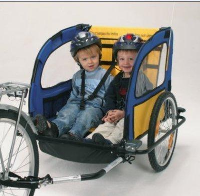 超人回來了宋一國列車/可載寵物或是小孩 自行車/腳踏車 拖車 新款超輕量折疊收納款