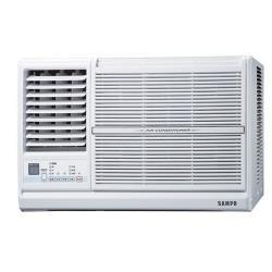 加贈安裝保固1年★SAMPO聲寶定頻窗型冷氣5坪AW-PC36L左吹