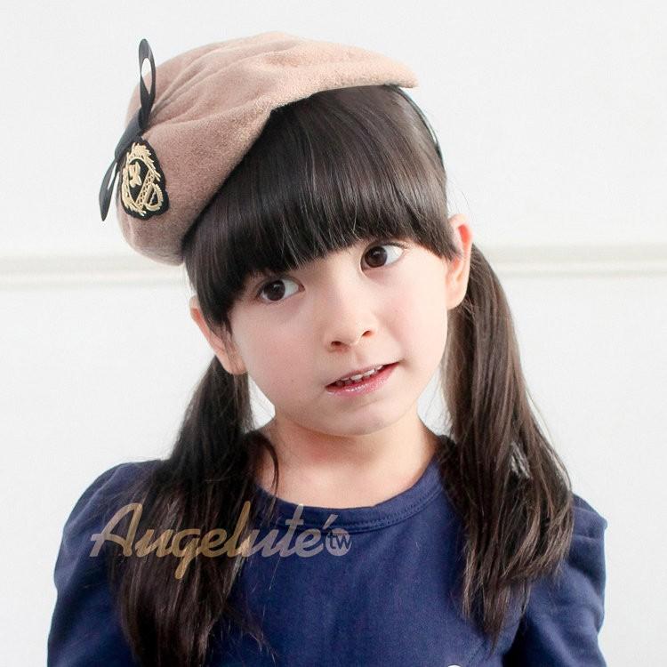Augelute 學院裝飾髮箍帽 F1032