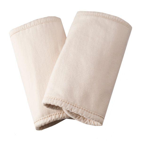美國ERGObaby - 有機棉吸吮墊/口水巾-自然色