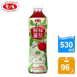 愛之味 鮮採蕃茄汁OLIGO保健4箱組(530ml x24入/箱)