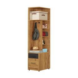 H&D 費利斯二抽1.5尺右桶衣櫥