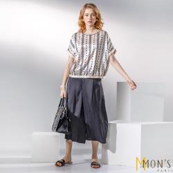MONS名媛最愛都會時尚通勤寬褲