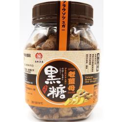 自然原素台灣手作黑糖粒-老薑母220g*6罐