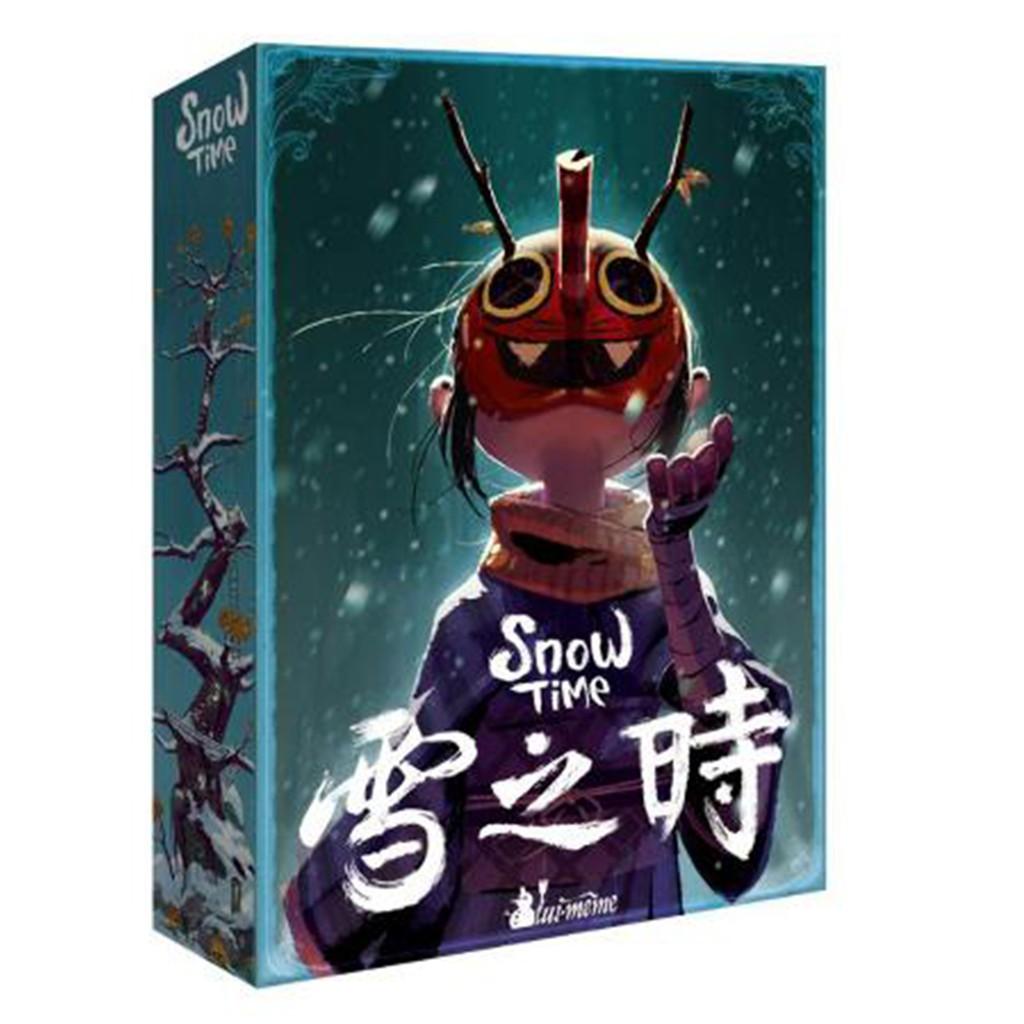 雪之時 Snow Time 桌遊 桌上遊戲【送牌套】【卡牌屋】