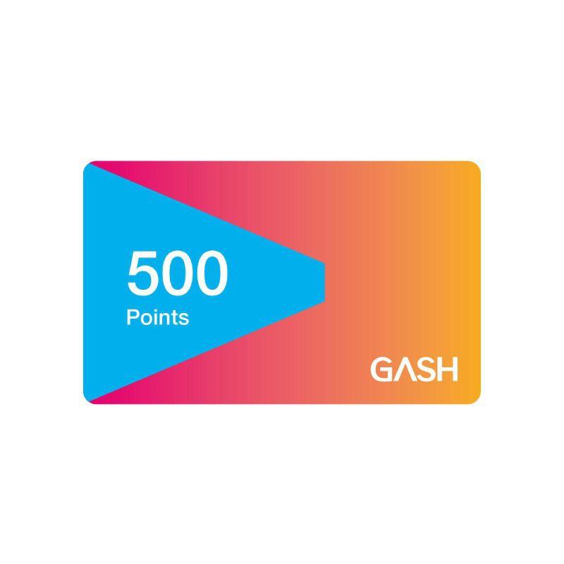 Gash Point 500點 【經銷授權 APP自動發送序號】