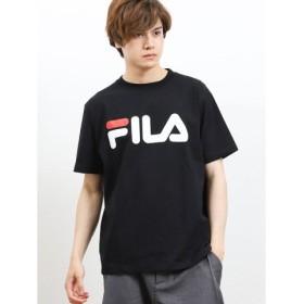 (TAKA-Q/タカキュー)フィラ/FILA ベーシックロゴ半袖Tシャツ/メンズ ブラック