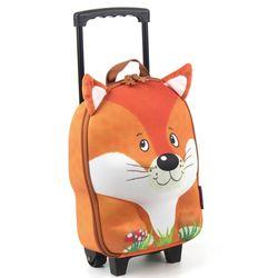 德國okiedog 兒童3D動物造型拉桿式行李箱_狐狸