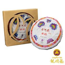 龍潤族韻普洱熟茶餅(100克/片)-雙文堂