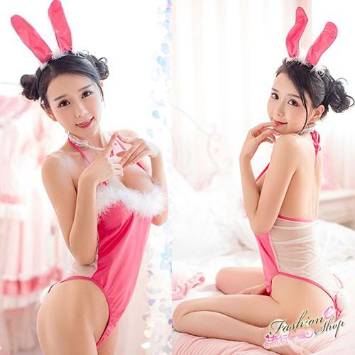 [台灣現貨] 兔女郎 透明薄紗兔女郎角色扮演制服兔女制服 流行E線A7180