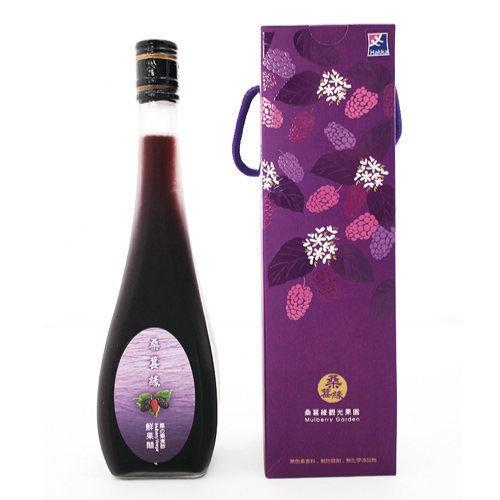 【桑葚緣】桑葚鮮果醋(1/2/4瓶) (520ml/瓶)