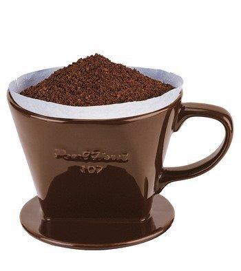 全館免運費~寶馬牌 咖啡濾杯1~2人份   陶瓷咖啡濾器JA-001-101