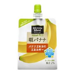 コカ・コーラ ミニッツメイド 朝バナナ パウチ 180g 1箱(24個入)