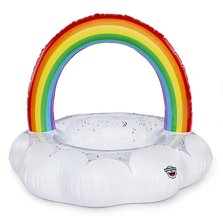 美國 Big Mouth - 造型游泳圈-快樂彩虹款