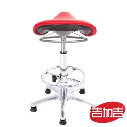 GXG 馬鞍型 工作椅 TW-T04 LUXK (電金踏圈款)