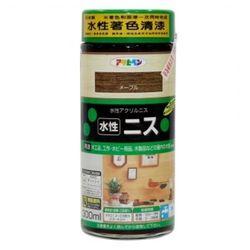 日本製水性木器著色清漆300ml