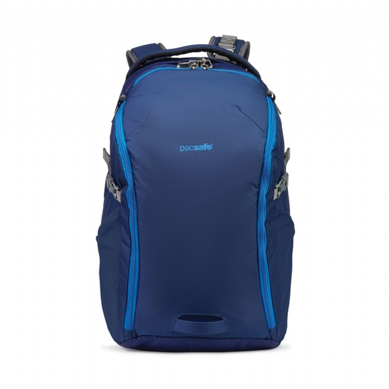 Pacsafe G3 探險防盜雙肩後背包(32L) (Lakeside Blue 湖岸藍)[PF60555-LABL]