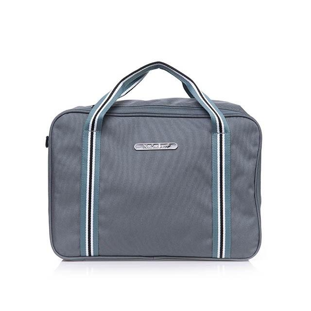 【NaSaDen】雪佛包-肩背/手提/穿套行李箱-三用時尚收納包/收納袋-相當一個16吋的行李箱-五色可選-土耳其深藍