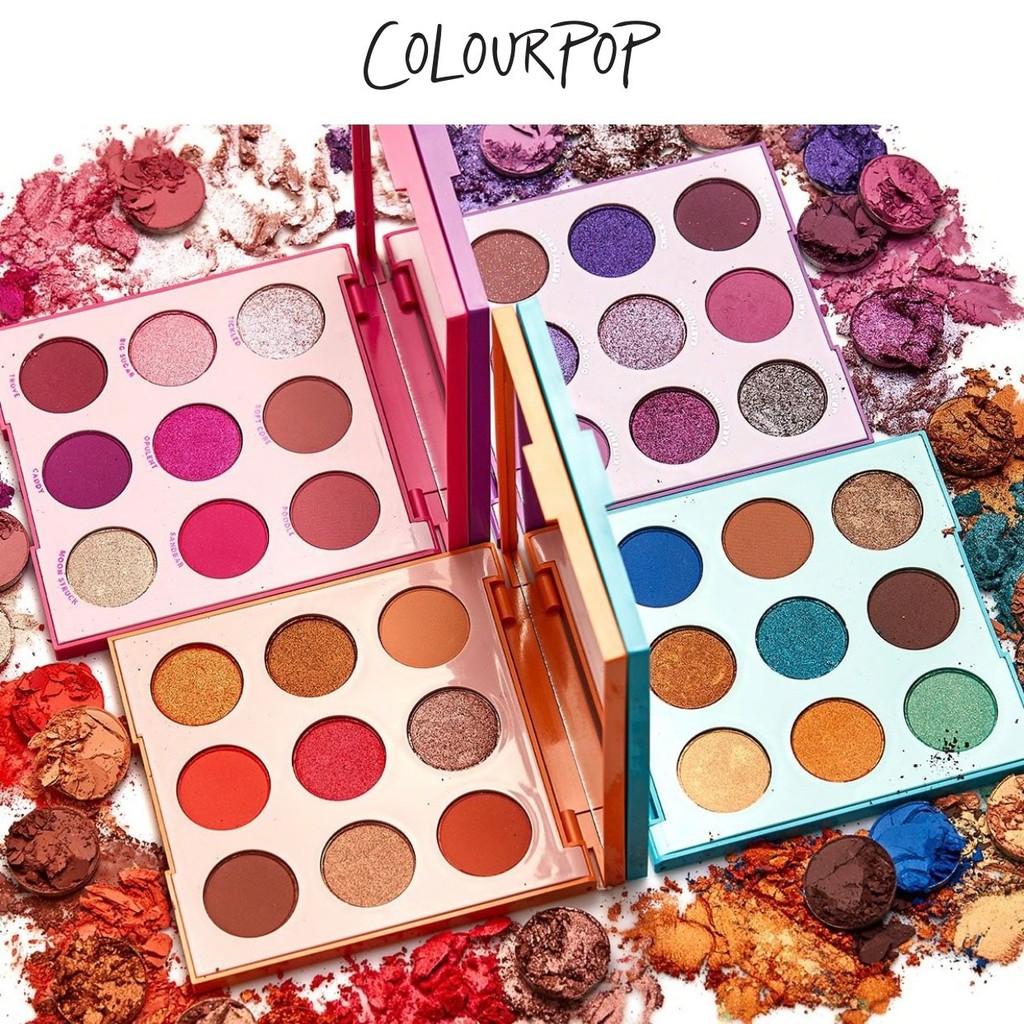 【Colourpop眼影盤】colorpop美國官網代購直送日落盤玫瑰盤 Disney 眼影 官方直購