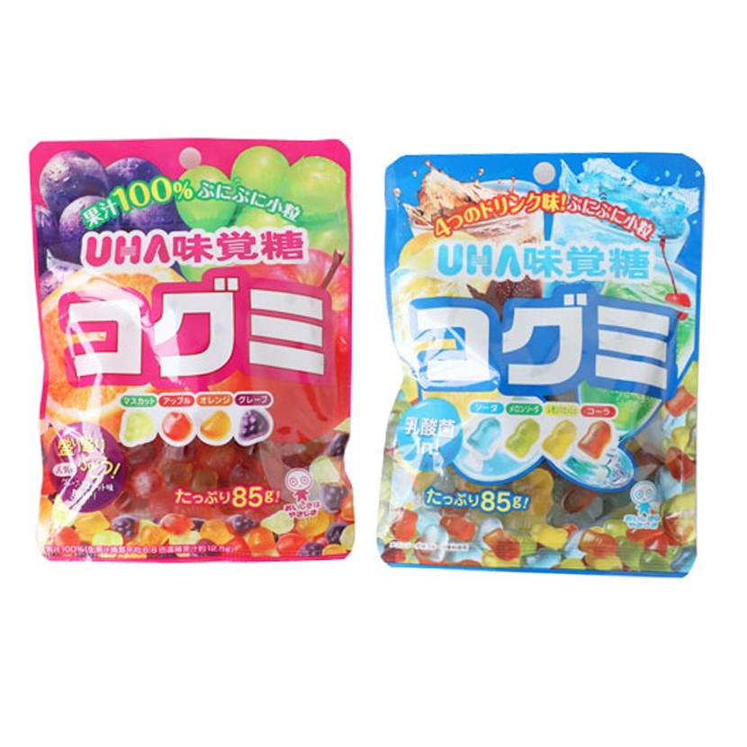 日本 UHA 味覺糖 酷Q彌軟糖 85g 軟糖 水果軟糖