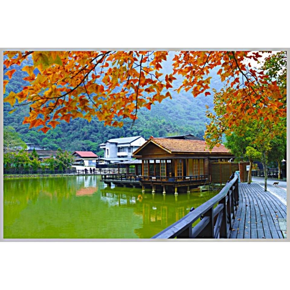 台灣之美1000片拼圖/車埕-池畔秋景