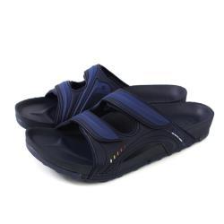 GP (Gold.Pigon) 阿亮代言 拖鞋 雨天 藍色 男鞋 G9030M-20 no034