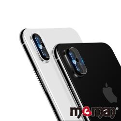 Mgman iPhone X  鋼化玻璃鏡頭保護貼-雙孔
