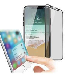 XM iPhone X 5.8吋 防指紋0.33mm霧面滿版玻璃保護貼-黑色