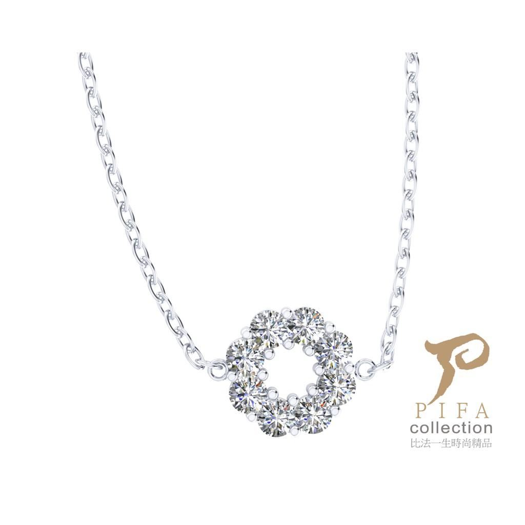 【比法一生】純銀項鍊-璀璨系列-圓項鍊 925純銀手作飾品
