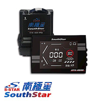南極星 GPS-6688 APP 液晶彩屏 全頻測速器 【麗車坊04435】