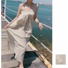 韓国 ファッション レディース ワンピース 夏 春 カジュアル naloF370 マキシワンピース リゾートワンピース ハワイ ナチュラルテイスト