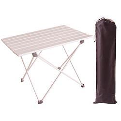 超輕航空鋁合金折疊桌蛋捲桌(大桌面)