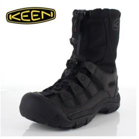 キーン KEEN メンズ ブーツ WINTERPORT ll 1019469 ウィンターポート ll ブラック 防水 ウィンターブーツ 完全防水 保温 抗菌防臭 軽量