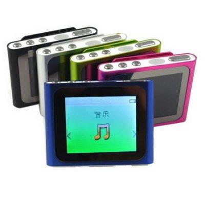 B1810蘋果六代 插卡式MP4隨身聽(加8G記憶卡)(送三大好禮)
