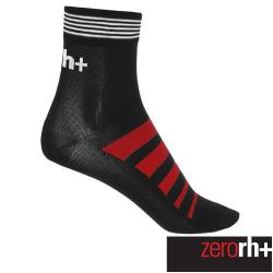 ZeroRH+ 義大利 Code 中筒運動襪 (10 cm) 黑/紅 ECX9079_903