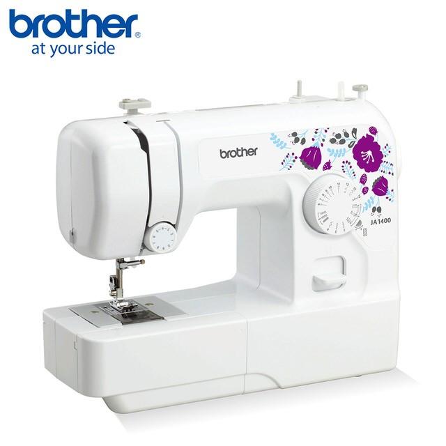 【日本 brother】紫語花仙子 實用縫紉機 JA-1400 (贈車縫專用線)