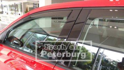 比德堡崁入式晴雨窗  福斯VW NEW POLO 5D 2018年起專用 (前窗兩片價)