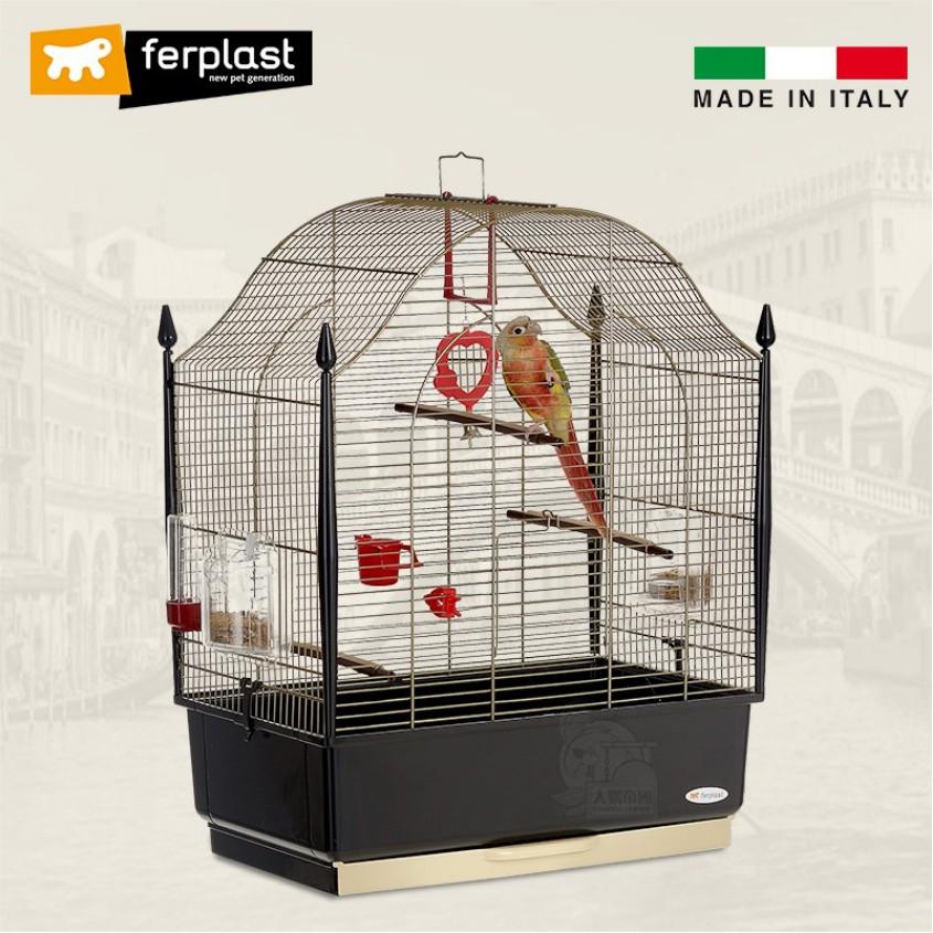義大利Ferplast 飛寶 歐式古堡 進口鳥籠 豪華型鸚鵡寵物鳥籠 【接單引進】《寵物鳥世界》