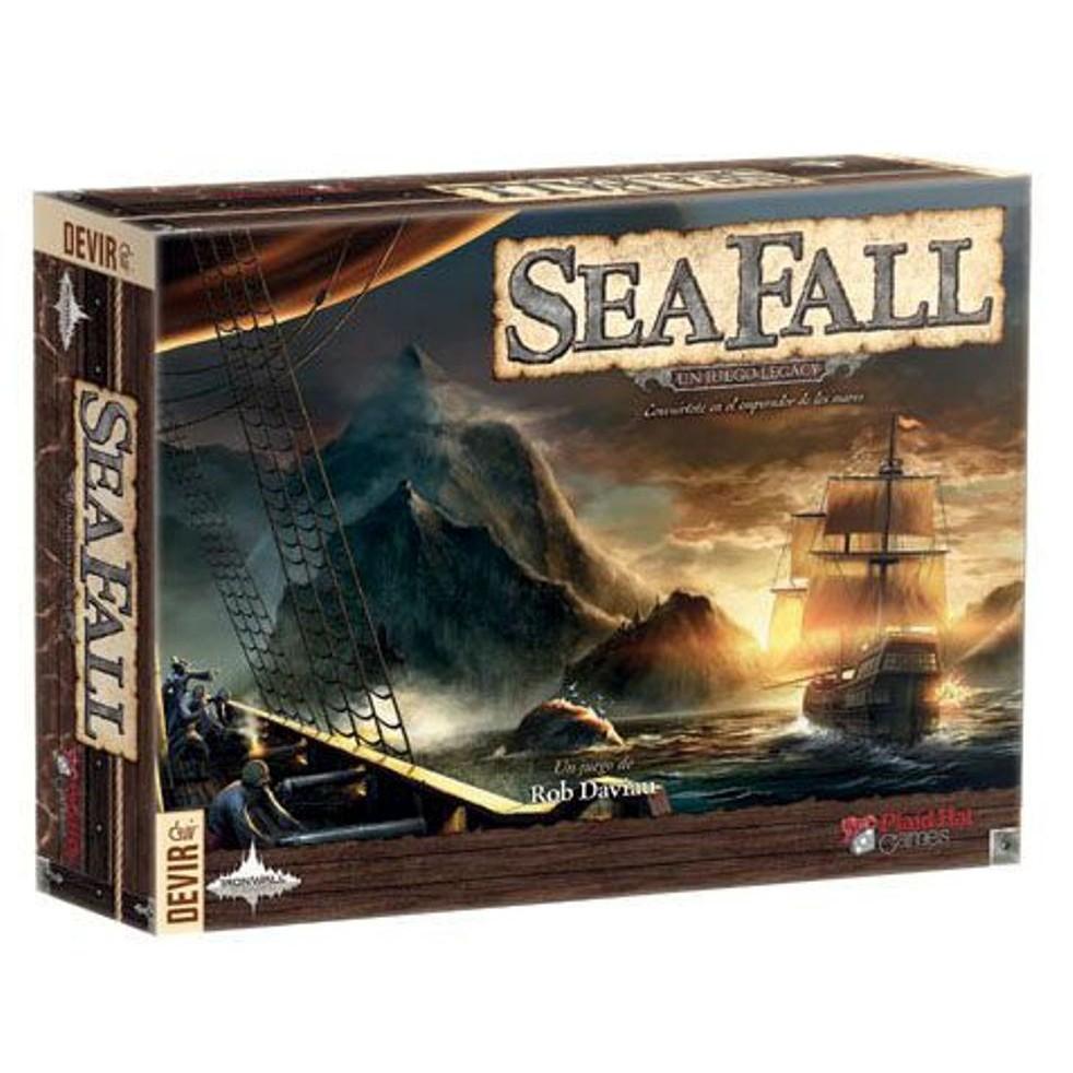 SeaFall 大航海時代 桌遊 桌上遊戲【卡牌屋】