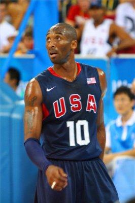 正版美國隊奧運會球衣 夢八#10號 KOBE BRYRNT柯比 科比 刺繡 夢之隊籃球衣 深藍