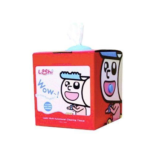 Leshi 樂適 - 嬰兒乾濕兩用布巾-抽取式單盒入 (100抽)