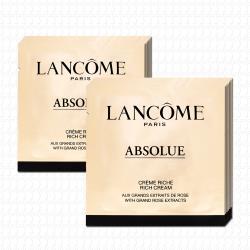 LANCOME蘭蔻 絕對完美黃金玫瑰修護乳霜豐潤版1mlx12