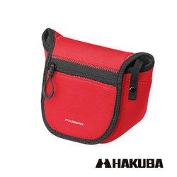HAKUBA 日本 PIXGEAR SLIM FIT CAMERA CASE 微單眼專用 隨身保護套 紅色