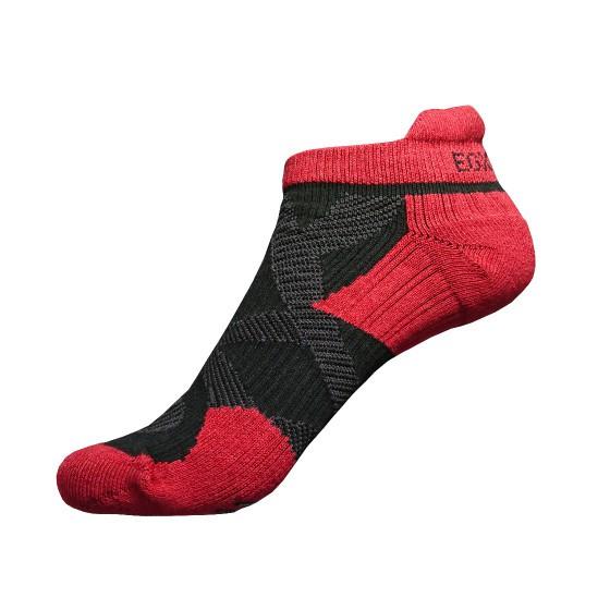 《X繃帶》2X 強化穩定壓縮踝襪(黑/紅)