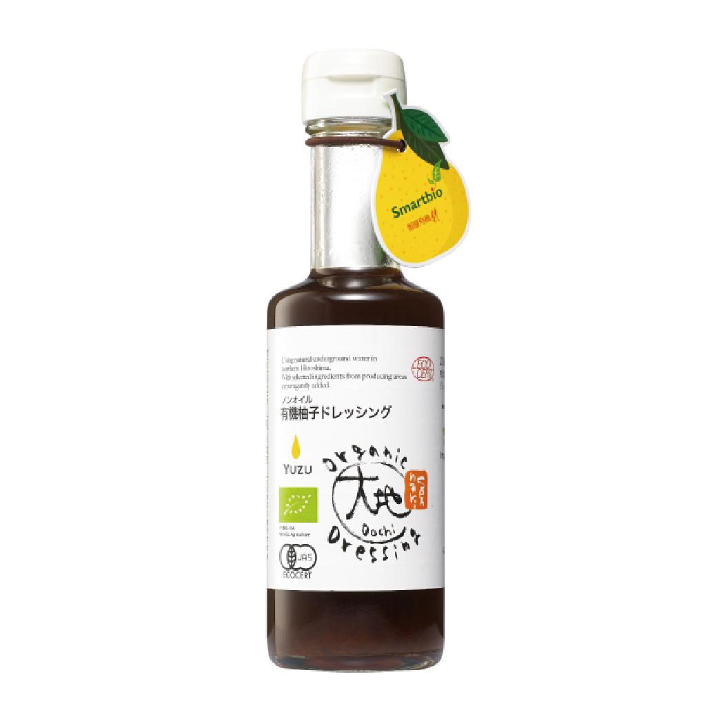 [大地] 日本有機柚子和風醬 (175ml/瓶)(全素)