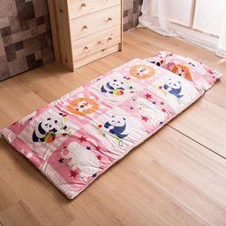 Ally 西崎呼吼動物園兒童兩用純棉睡袋